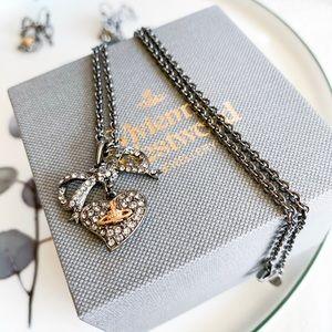 Vivienne Westwood Heart Pendant Necklace
